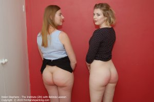 Firm Hand Spanking - The Institute - Zh - image 3