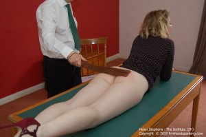 Firm Hand Spanking - The Institute - Zh - image 11