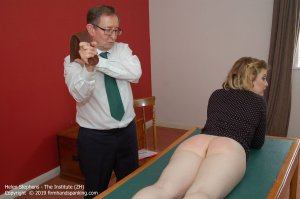 Firm Hand Spanking - The Institute - Zh - image 18