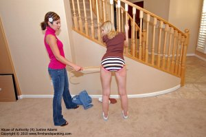 Firm Hand Spanking - Abuse Of Authority - R - image 7