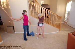 Firm Hand Spanking - Abuse Of Authority - R - image 6