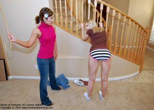 Firm Hand Spanking - Abuse Of Authority - R - image 13