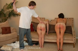 Firm Hand Spanking - Brotherly Love - K - image 8