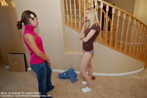 Firm Hand Spanking - Abuse Of Authority - R - image 3