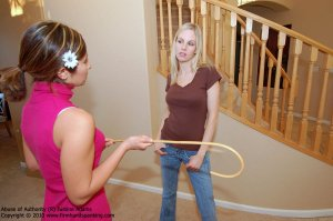 Firm Hand Spanking - Abuse Of Authority - R - image 15