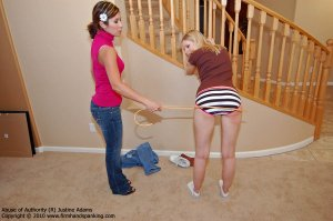 Firm Hand Spanking - Abuse Of Authority - R - image 17