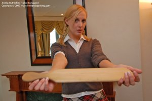 Firm Hand Spanking - Diva Bodyguard - F - image 11