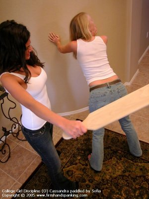 Firm Hand Spanking - 01.07.2005 - Board On Tight Jeans - image 3