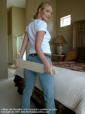 Firm Hand Spanking - 01.07.2005 - Board On Tight Jeans - image 12