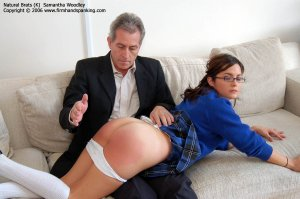 Firm Hand Spanking - 01.11.2006 - Bare Bottom Otk Spanking - image 4