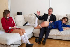 Firm Hand Spanking - 01.11.2006 - Bare Bottom Otk Spanking - image 1