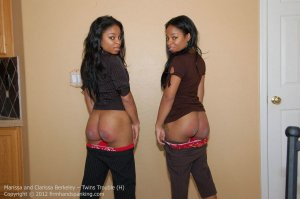 Firm Hand Spanking - Twins Trouble - H - image 15