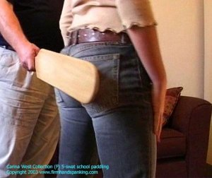 Firm Hand Spanking - 01.11.2003 - Board On Tight Jeans - image 15
