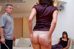 Firm Hand Spanking - 02.01.2008 - Bare Bottom Caning - image 3