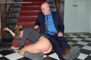 Firm Hand Spanking - 02.02.2008 - Nude Caning - image 5