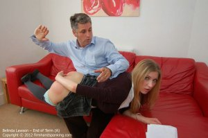 Firm Hand Spanking - End Of Term - A - image 2