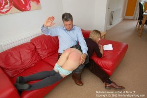 Firm Hand Spanking - End Of Term - A - image 1