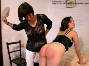 Firm Hand Spanking - 02.03.2007 - Bare Bottom Slippering - image 7