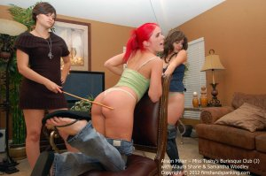 Firm Hand Spanking - Miss Tushy's Burlesque Club - J - image 7