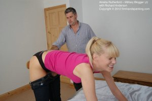 Firm Hand Spanking - Military Blogger - J - image 1