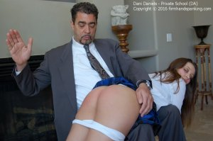 Firm Hand Spanking - Private School - Da - image 2