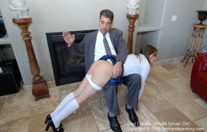 Firm Hand Spanking - Private School - Da - image 9