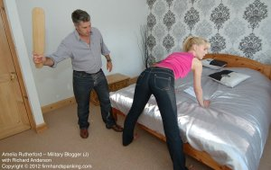Firm Hand Spanking - Military Blogger - J - image 4
