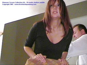 Firm Hand Spanking - 06.03.2003 - Bare Bottom Paddling - image 1