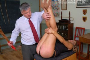 Firm Hand Spanking - Asking For It - G - image 1