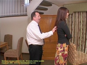 Firm Hand Spanking - 06.03.2003 - Bare Bottom Paddling - image 13