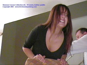Firm Hand Spanking - 06.03.2003 - Bare Bottom Paddling - image 6