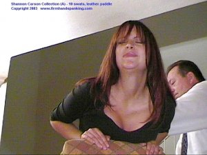 Firm Hand Spanking - 06.03.2003 - Bare Bottom Paddling - image 7