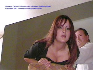 Firm Hand Spanking - 06.03.2003 - Bare Bottom Paddling - image 11