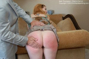 Firm Hand Spanking - Paid In Full - J - image 16