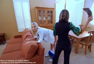 Firm Hand Spanking - Abuse Of Authority - P - image 2