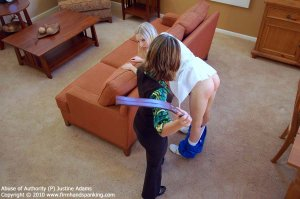 Firm Hand Spanking - Abuse Of Authority - P - image 10