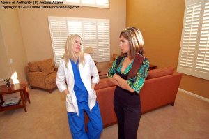 Firm Hand Spanking - Abuse Of Authority - P - image 4
