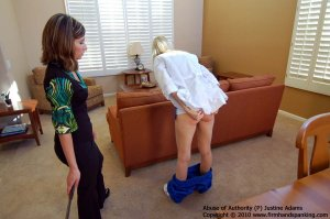 Firm Hand Spanking - Abuse Of Authority - P - image 12