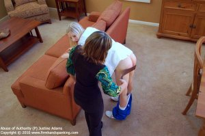 Firm Hand Spanking - Abuse Of Authority - P - image 6