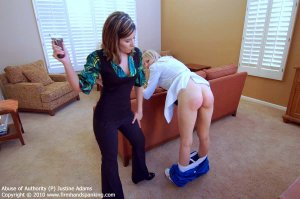 Firm Hand Spanking - Abuse Of Authority - P - image 3