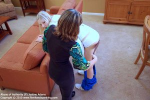 Firm Hand Spanking - Abuse Of Authority - P - image 17