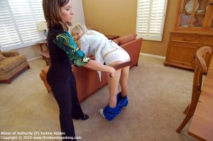 Firm Hand Spanking - Abuse Of Authority - P - image 15
