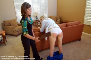 Firm Hand Spanking - Abuse Of Authority - P - image 14