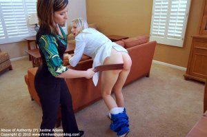 Firm Hand Spanking - Abuse Of Authority - P - image 18