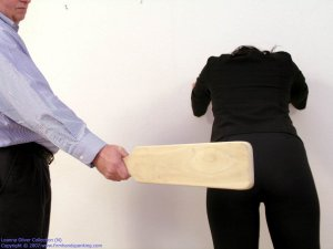 Firm Hand Spanking - Hard Swats With The Board - image 1