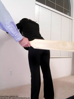 Firm Hand Spanking - Hard Swats With The Board - image 9