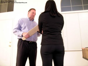 Firm Hand Spanking - Hard Swats With The Board - image 10