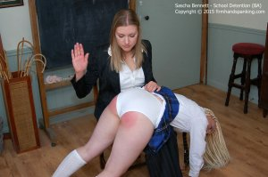 Firm Hand Spanking - School Detention - Da - image 6