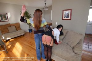 Firm Hand Spanking - Houseguest From Hell - B - image 17