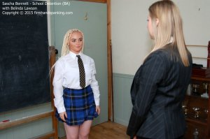 Firm Hand Spanking - School Detention - Da - image 9